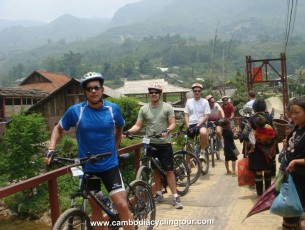 Cambodia cycle tour