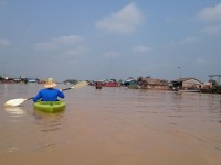 West Baray Cycle & Floating Village by Kayaking – 1 day